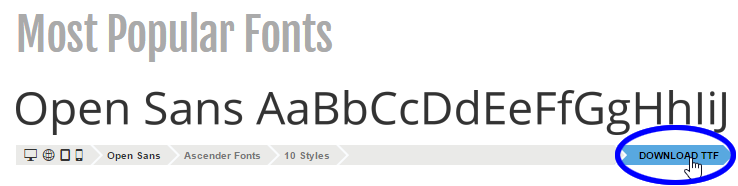 A Smarter Way to Learn Professional HTML & CSS | Web fonts: CSS3